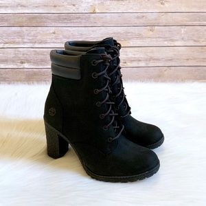 Timberland Black Tillston 6 Inch Boots
